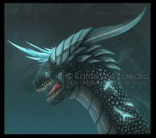Ebastus dragon - head redesign by Sythgara