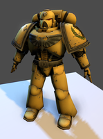 3D imperial fist by the-Higgins