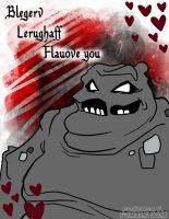 Clayface Valentine by Pokeaday