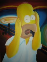Hommer Simpson ala Oil by guimatheus