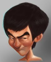 Mr Bruce Lee by denisalonso