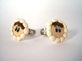 Ice Climbers Rings by sweet-geek