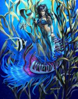 KELP MERMAID by SMorrisonArt