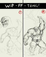 FF - REMAKE - THING WIP 1 by dtran