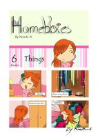 Homebbies 06 Things by KimiK-A
