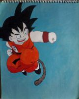 Kid Goku by DarkSaiyan21