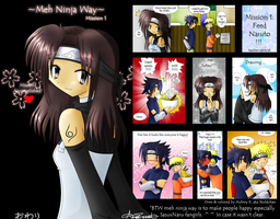 Meh Ninja Way Mission 1 by Skuldchan