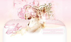 Taylor Swift Header by littlebutterflyxxx
