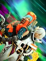 .hack//G.U. : Haseo X-th Form + Azure Kite 2 by suuzan