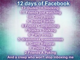 12 Days Of Facebook. by Angelicsweetheart