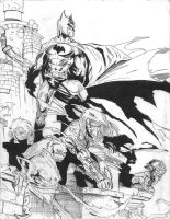Batman and Darkness by juanjosilva