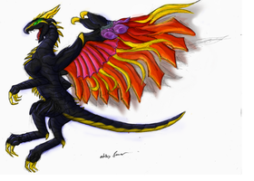 The Dragon Bahamut by Sky-Lily