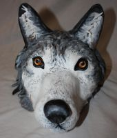 Wolf Sculpture by Acrid-Blood