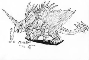 Monster Hunter Monoblos by AMBONE105