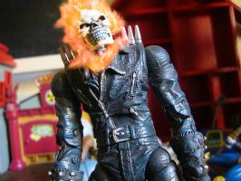 Marvel - Ghost Rider figure by stopmotionOSkun