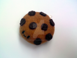 Choco chips Cookie plushie by TokiCrafts