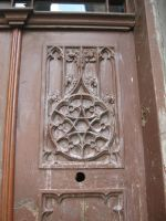 Old door - wood gothic by Redilion