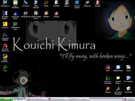 My latest anime boy Desktop by theorygirl