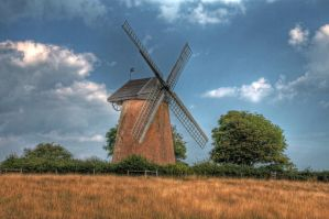 Bembridge Windmill by Tangent101