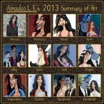 2013 Art Summary by Amadeo-Amadeo