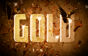 Gold-Text-Effect by Vampire-101
