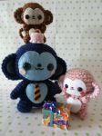 Father's Day Monkey Amigurumi by cuteamigurumi