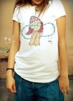 paf girl t-shirt by Cielodise