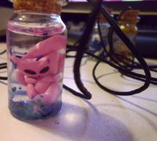 Bottled Mew by delicioustrifle