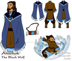 :TWS: The Black Wolf by SheWhoWalksWithThee