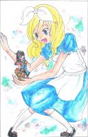 Request - Alice In Wonderland with Yuri Fudo by cat-dog-pokemon