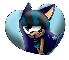 |.:P. Carro In A Big Blue Heart X3:.| by xXCrazyMusicLoverXx