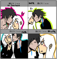 xs kiss meme by sunpeel