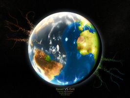 Ying Yang Earth by makrivag