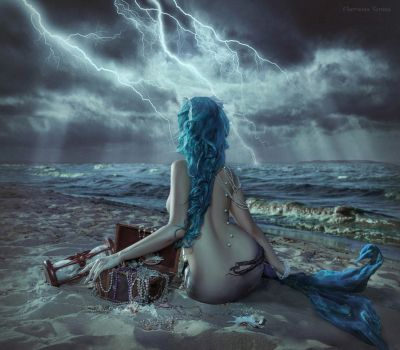 on the edge of the storm by chervona