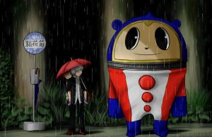 My neighbour Teddie by KatiaraTHunter