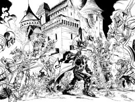 Mythic Legions comic cover by MarcFerreira