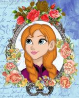 Princess Anna of Arendelle by GracefulTatiana1897