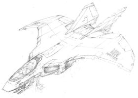 Saracen Attack Jet by Knightwatch