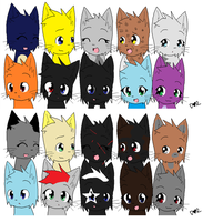 Awesome Peeps (some) by G0LDENLY