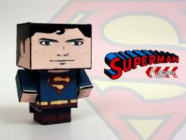 Superman cubee by dfordesmond