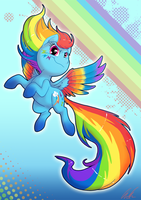 Rainbow Powered Dash by C-Puff