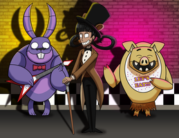 Five Nights at Don't Starve by 9CentsChange