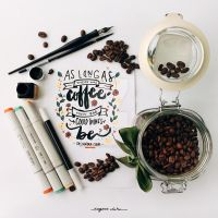 As Long As There Was Coffee by eugeniaclara