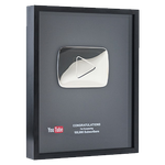 Youtube Silver Play Button 320x by GARYOSAVAN