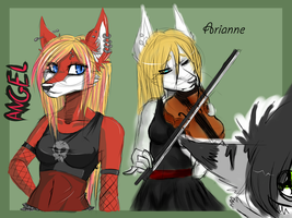 Old Characters ._. by xN-E-V-E-R-M-O-R-Ex