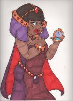 Hathor by DeVanceArt