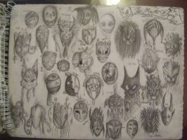 Mask Page: Masks of Kings by UnableToFindName