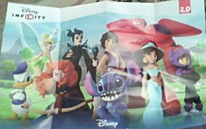 Disney Infinity 2.0 poster by bvw1979