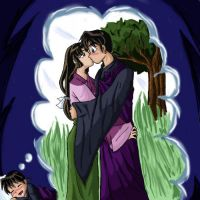 MIroku's dream by bubblegummer