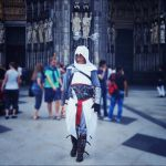 Altair Cosplay - A Blade into the crowd by 6Silver9